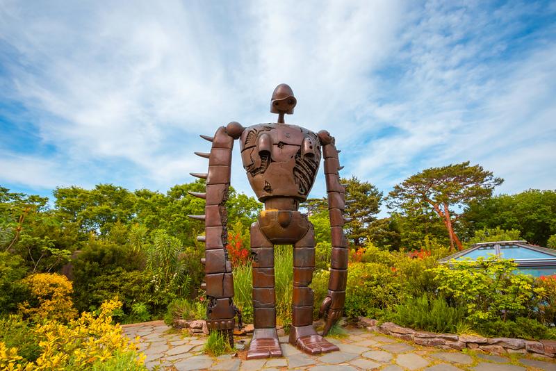 Ghibli Museum robot statue. Editorial credit: cowardlion / Shutterstock.com