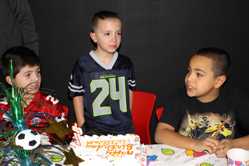 William's 7th birthday party 1-3-15