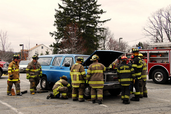 Roxbury Fire Department Extrication Drill 4/10/11