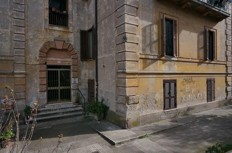 PALAZZO GENNY-ESTERNI-ARCHIVIO -  GARBATELLA VIA CRAVERO - B