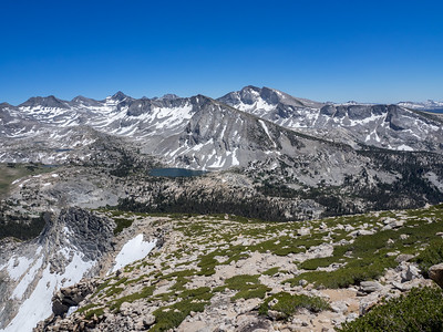 Tuolumne Meadows to Vogelsang Peak - Yosemite NP  7/7/16