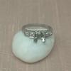 Antique 5-stone Setting, Platinum 9