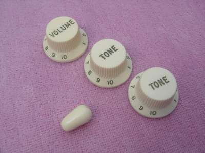 1964 Fender stratocaster knobs and switch tip