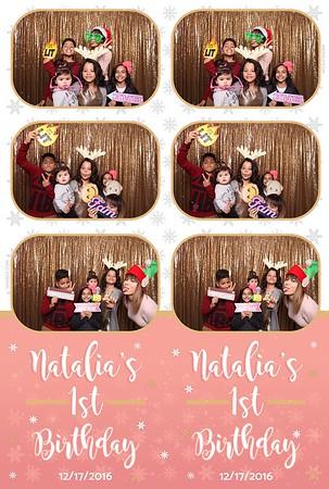 Natalia's 1st Birthday Party