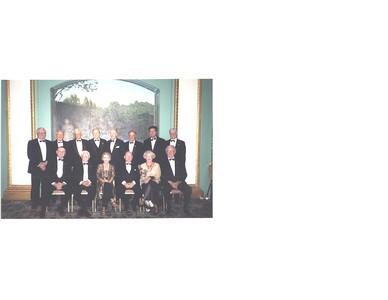 Past Presidents Dinner 2009