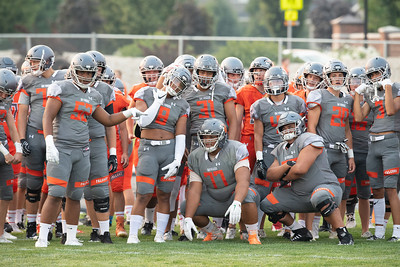 2018 Skyridge Football Orange & Grey PHOTOS