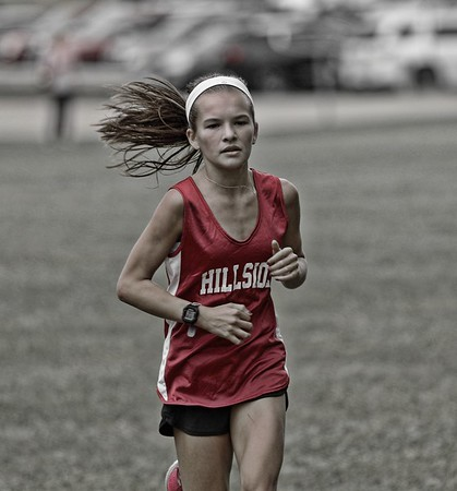 Northville Hillside Girls Cross Country 2017