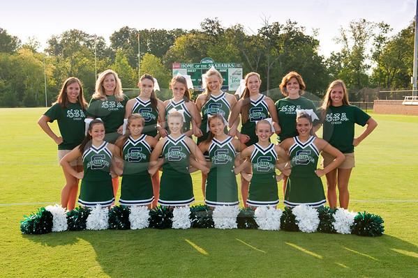 SBA Cheerleaders 2012