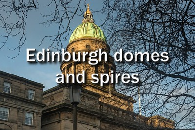 Edinburgh domes and spires