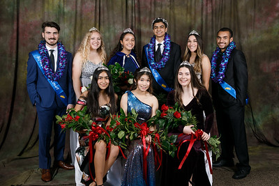 RCS 2019 Homecoming Court Portraits