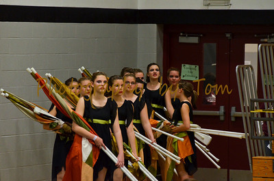 Washington HS JV Winter Guard