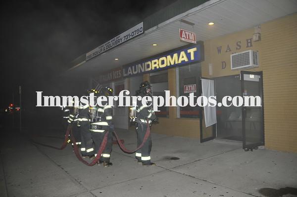 LEVITTOWN FD BASEMENT FIRE IN TAX PAYER CENTER LA