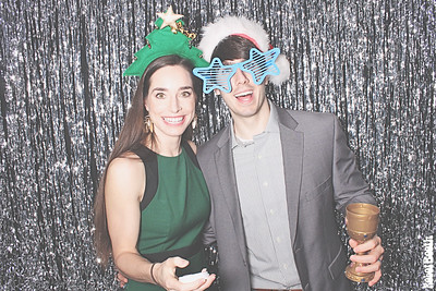 12-13-19 Atlanta Ventanas Photo Booth - Booz Allen Hamilton Holiday Party 2019 - Robot Booth