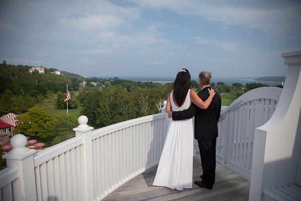 Mackinac Wedding Elopement Photography West Bluff Cindy + Tim