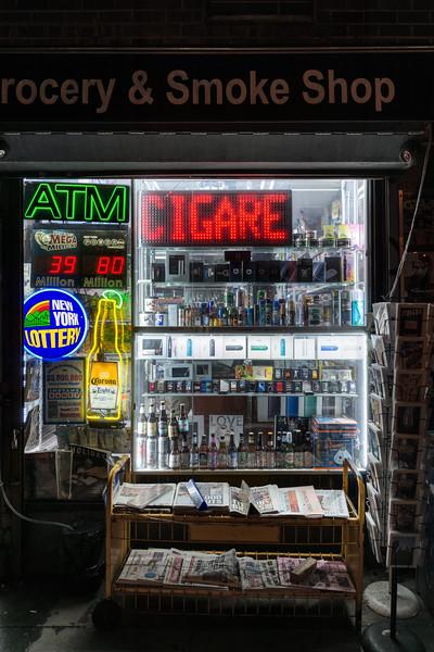 Shop - New York, NY, USA - August 18, 2015