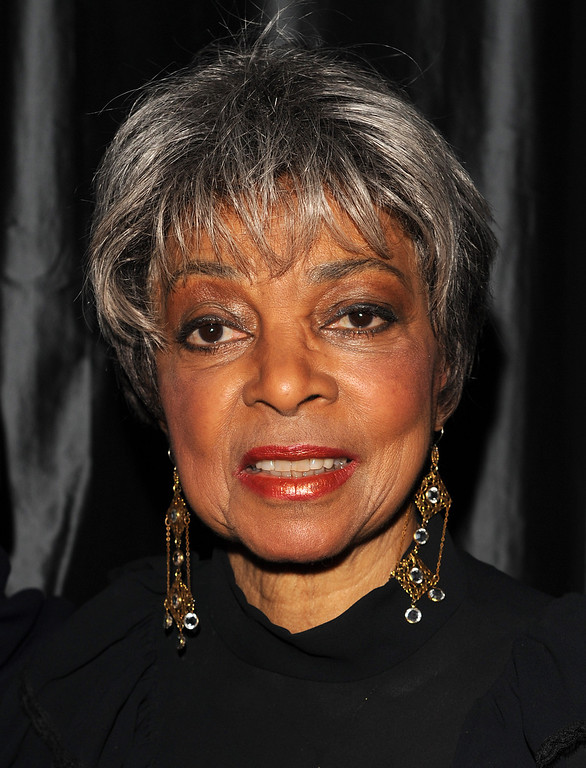. Actress Ruby Dee arrives at the 2007 New York Film Critic\'s Circle Awards at Spotlight in Times Square, Sunday, Jan. 8, 2008, in New York. (AP Photo/Peter Kramer)