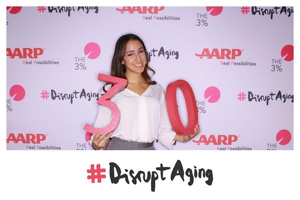 AARP  #DisruptAging 11/9/18
