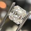 2.89ct Antique   Asscher Cut Diamond GIA I VS2 6