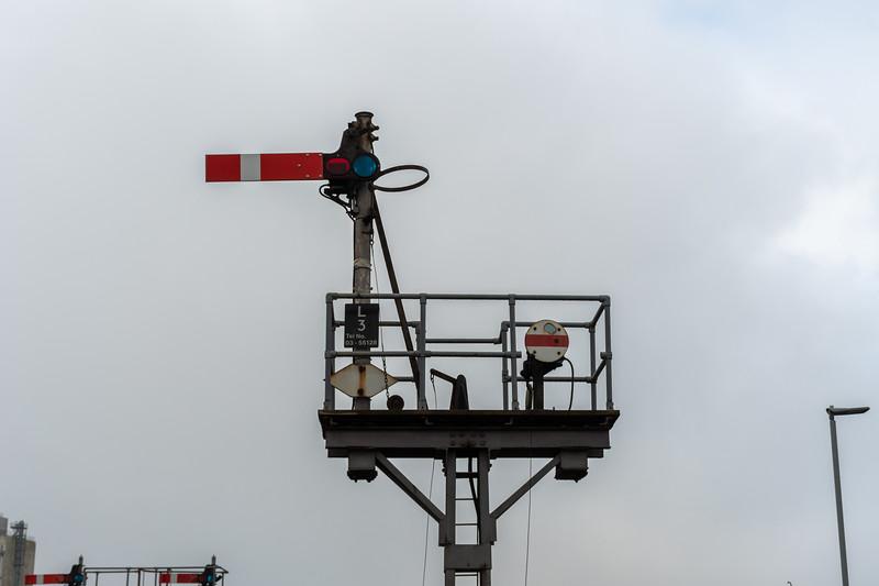Lowestoft - Semaphore Signalling