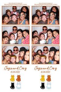 8/28/21 - Joyce & Cory Wedding