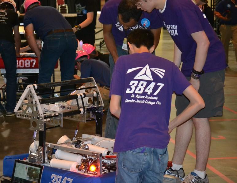 2016 FIRST Bayou Regional Robotics - Spectrum 3847 - 731
