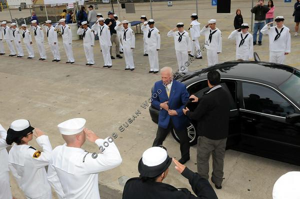 Buzz Aldrin's Arrival