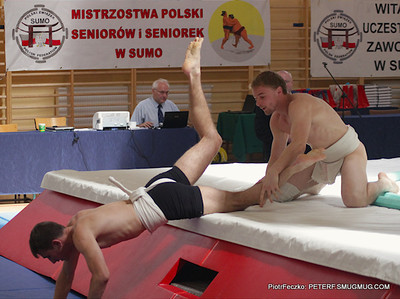 Poland Sumo Senior & Youth Championships Warsaw june 2012
