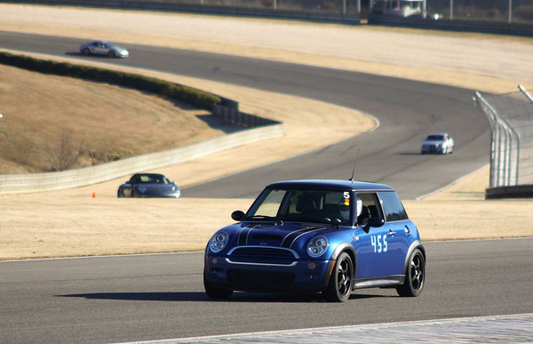 #455 Blue Mini Cooper