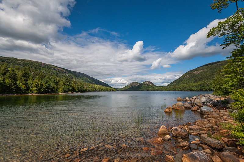 Jordan Pond - Acadia National Park - Maine - 2019