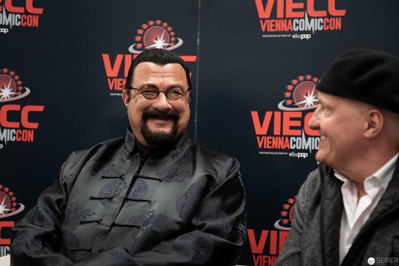 Steven Seagal at Vienna ComicCon 2019 VIECC