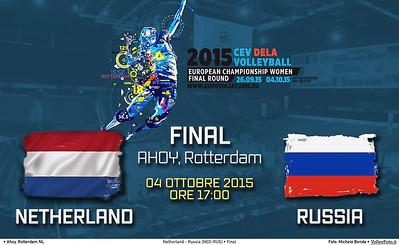 Finale Olanda - Russia | NED-RUS Final