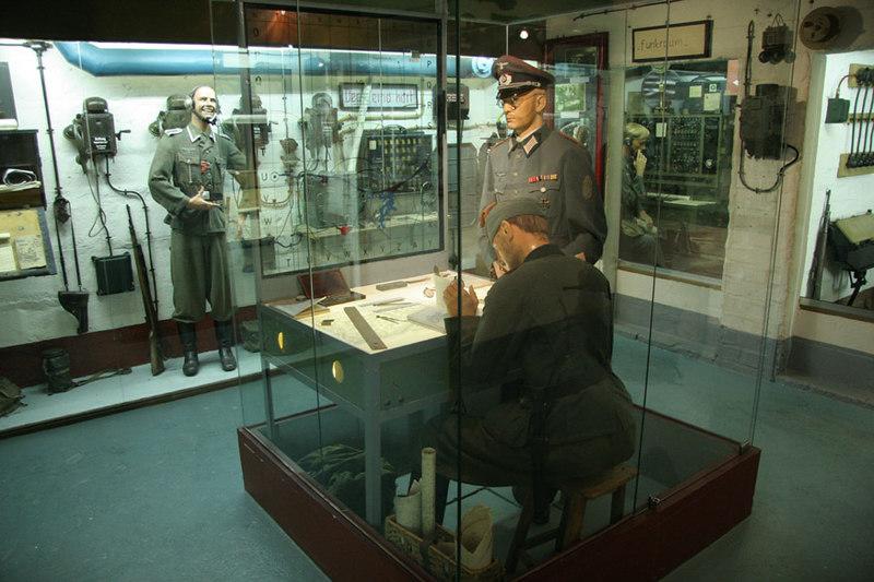 Display inside La Grand Bunker.