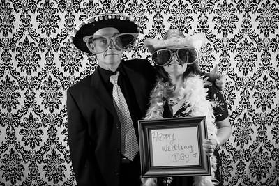 Sarah and Garret Photo Booth