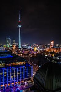 View of Berliner Fernsehturm.