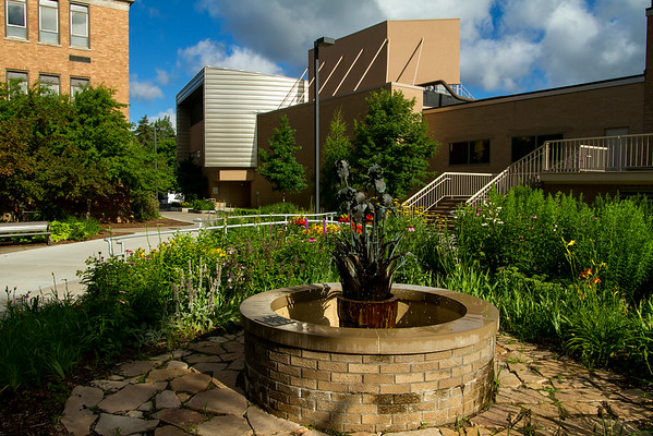 Campus landscaping July 2014
