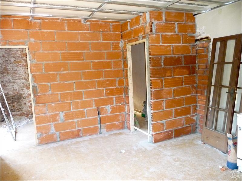 Notre chambre avec accès SdB a gauche