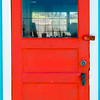 Red Door of a Storage She