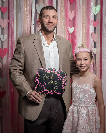 Father and Daughter Sweetheart Dance 2019