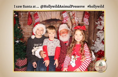 Hollywild Santa Photos - 120419