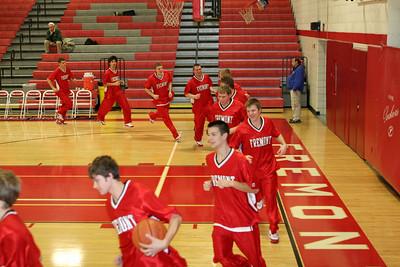 Boys Varsity Basketball - 1/14/2008 Ottawa Hills