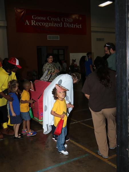 Child Care Center Halloween Parade