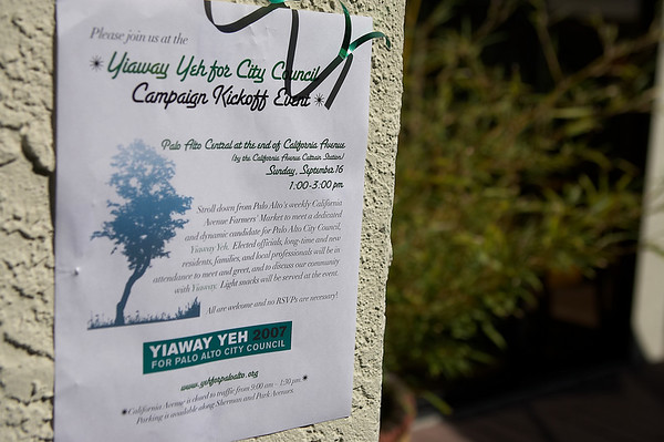 Yiaway Yeh Campaign Kickoff