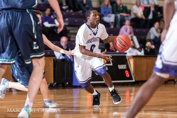 Broughton boys varsity basketball vs. Leesville. January 8, 2019. 750_1727
