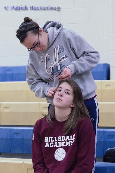 2011-02-10 Girl's JV and Varsity Basketball
