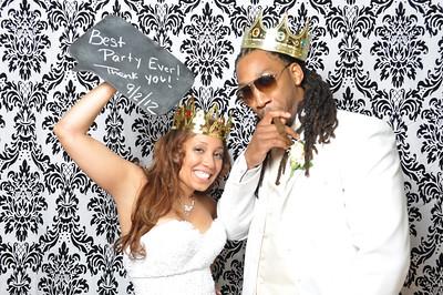 Photo Booth - Jessica & Leroy's Wedding