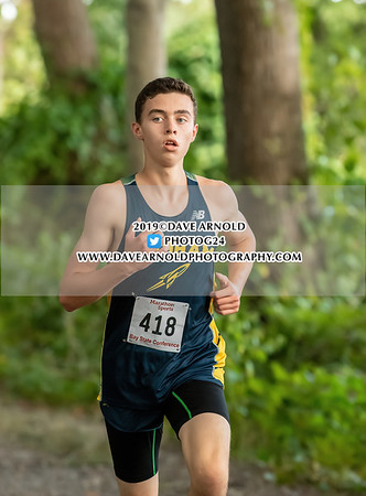 9/11/2019 - Boys JV Cross Country - Braintree, Walpole, Needham
