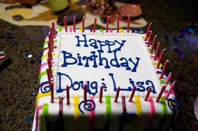 Doug and Lisa's Birthday 28&30