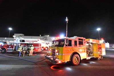 Commercial Building Fire - SCI Phoenix, Skippack Twp, PA - 12/10/20