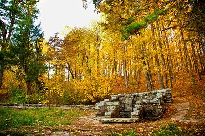 November fall road trip