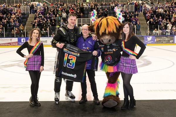 Pride week jersey auction